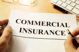 a broker signing a commercial insurance contract